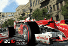 Codemasters Announces F1 2016