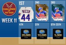 mlb the show 16 challenge of the week 11