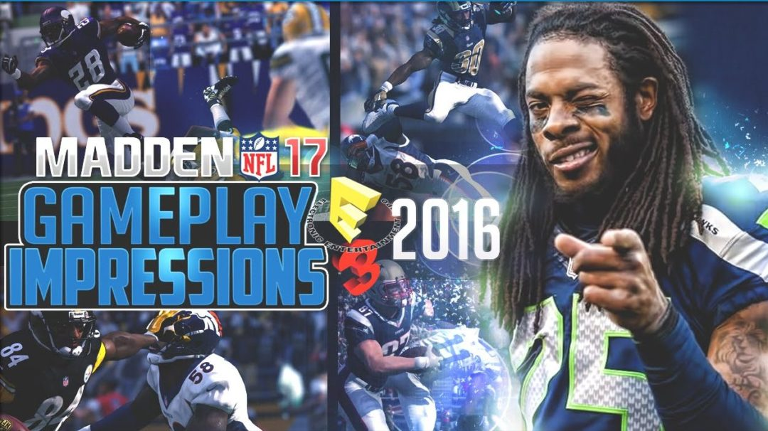 madden 17 gameplay impressions e3 2016 ea play 2016