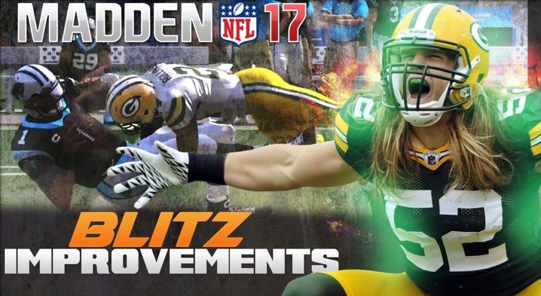 Madden NFL 17 Blitzes