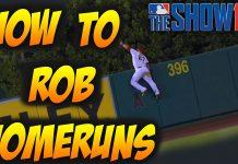 mlb the show 16 tips how to rob homeruns