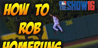 mlb the show 16 tips how to rob homeruns