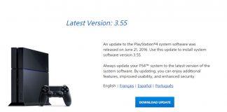 ps4 update 3.55