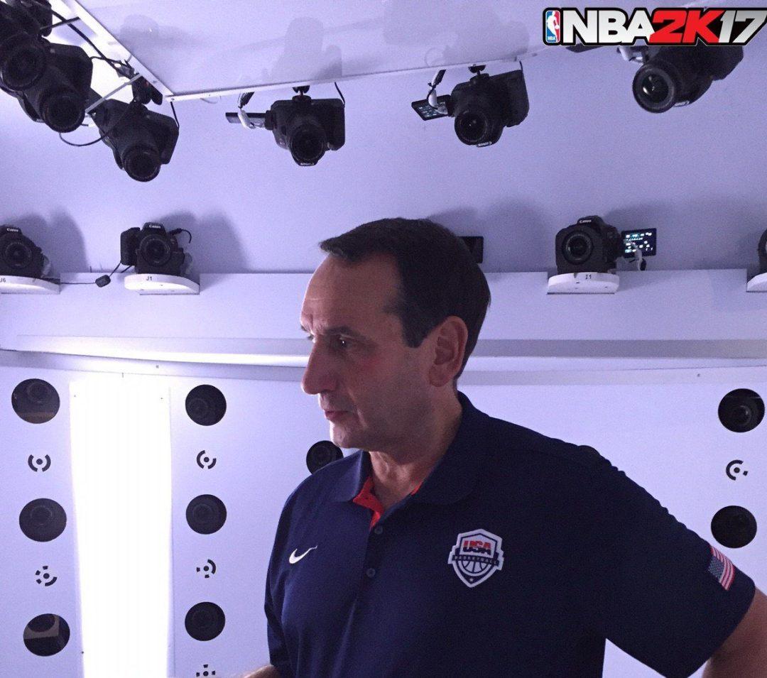 NBA 2K17 Mike Krzyzewski