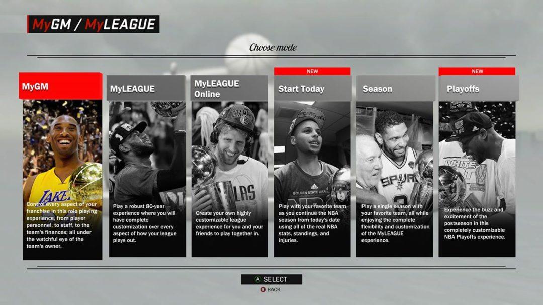nba 2k17 league expansion