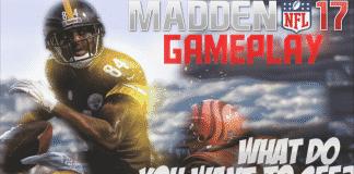 madden 17 gameplay steelers