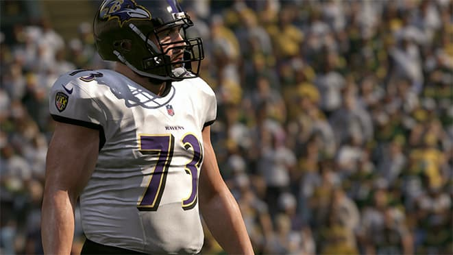 madden 17 offensive linemen player ratings marshall yanda