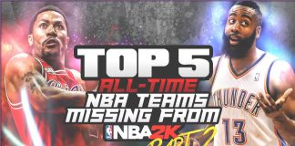 nba 2k16 top 5 nba teams missing from nba 2k