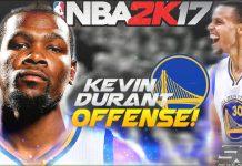 NBA 2K17 Kevin Durant