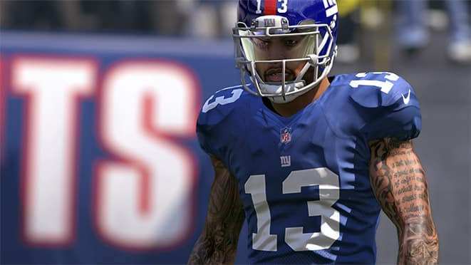madden 17 top 5 wide receiver ratings obj