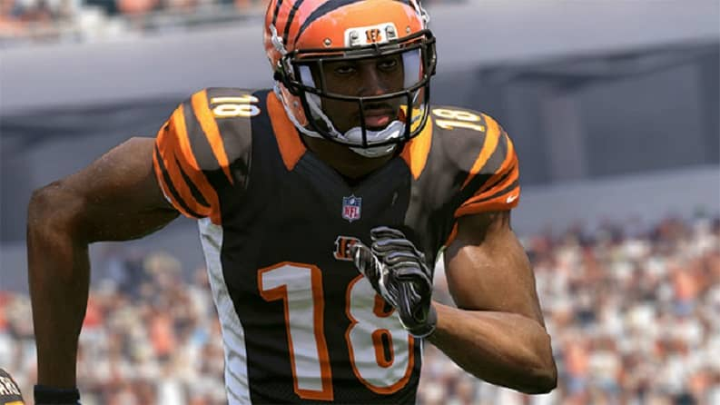 Antonio Brown Ranks Number One WR by Madden 17 Player Rating