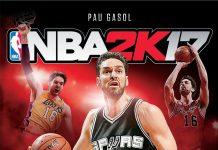 NBA 2K17 Pau Gasol