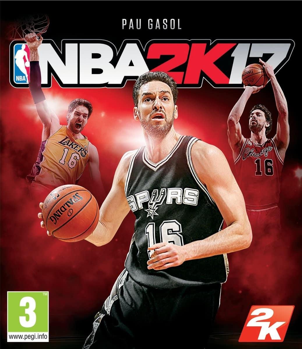 f5a0d359bdd5 Pau Gasol Is The NBA 2K17 Spanish Cover Star - Sports Gamers Online