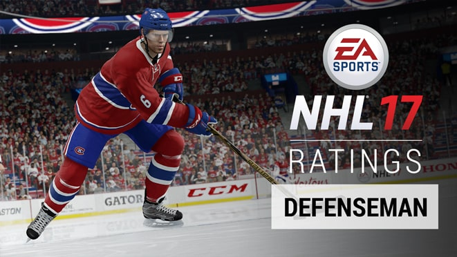 NHL 17 defenseman