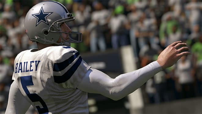 madden 17 top 5 kickers dan bailey