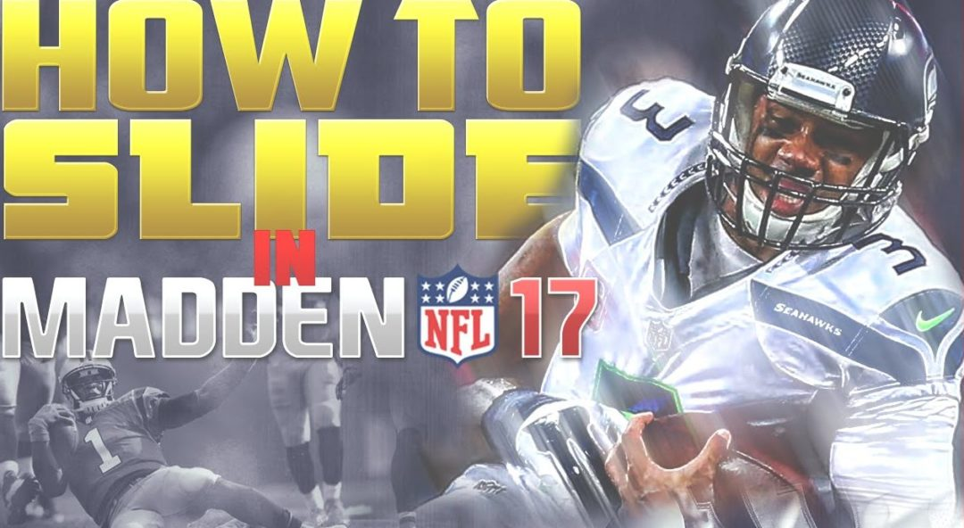 how to slide in madden 17