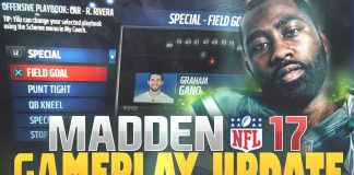 madden 17 gameplay update