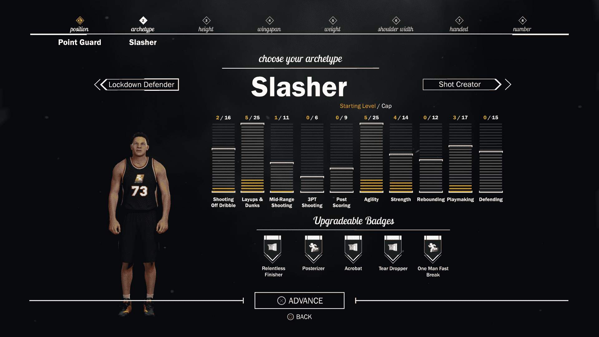 1-NBA 2K17_MyCareer_Archetypes