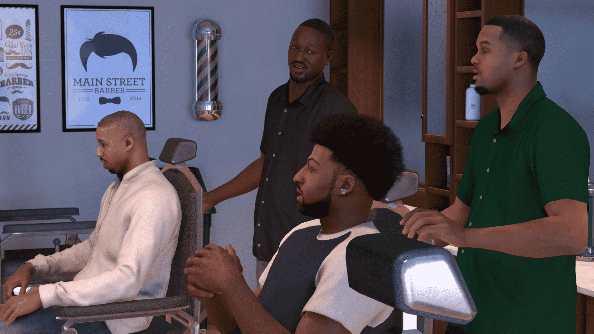 5-NBA 2K17_MyCareer_Barbershop