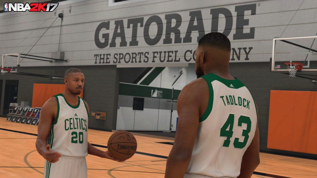 NBA 2K17 MyCareer Michael B. Jordan1
