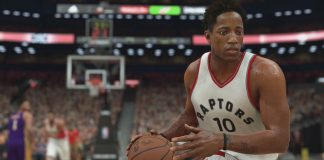 nba 2k17 gameplay demar derozan