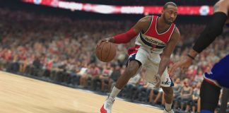 nba 2k17 gameplay john wall