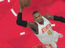 nba 2k17 gameplay Paul Millsap