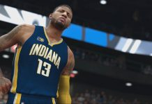 NBA2K17_Gameplay Paul George Indiana