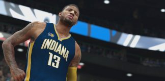 NBA2K17_Gameplay Paul George Indiana