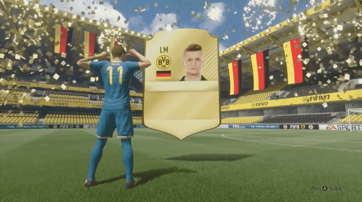 FIFA 17 pack opening Reus