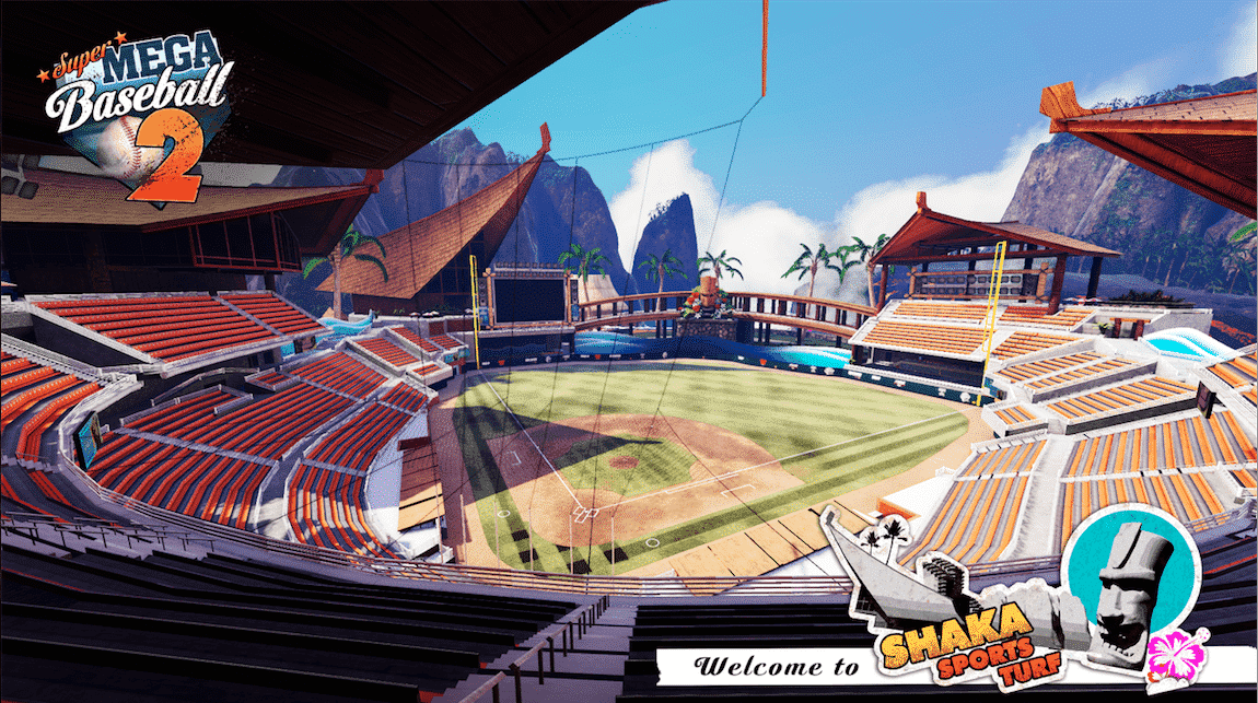 Super Mega Baseball stadium