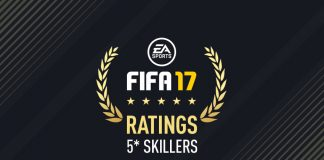fifa 17 5 star skillers