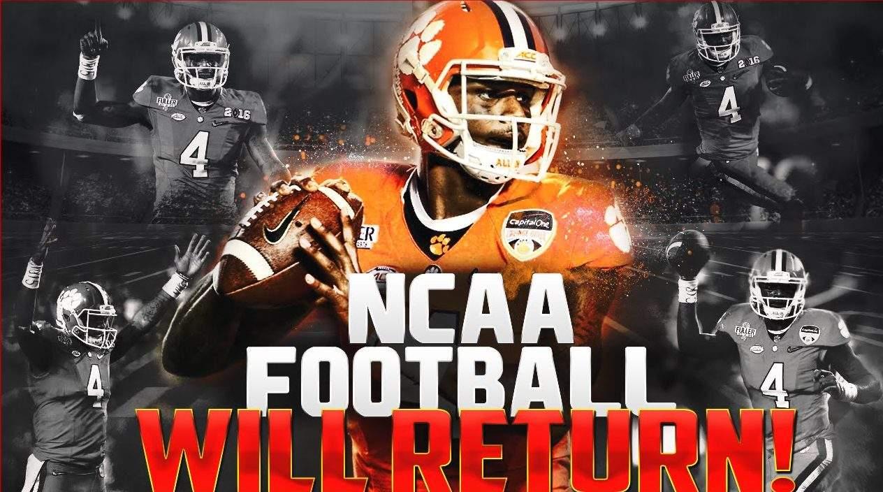 NCAA Football Will Return