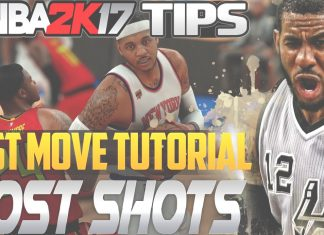 nba 2k17 tips post move part 2