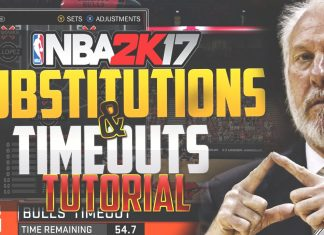 NBA 2k17 Tips Timeouts and substitutions