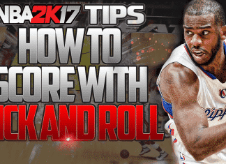 nba 2k17 tips score with pick and roll