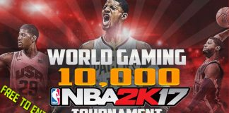 NBA 2K17 $10,000 Tournament