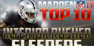 Madden 17 CFM Tips Sleepers Raiders
