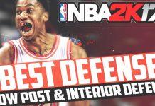 NBA 2K17 Low Post