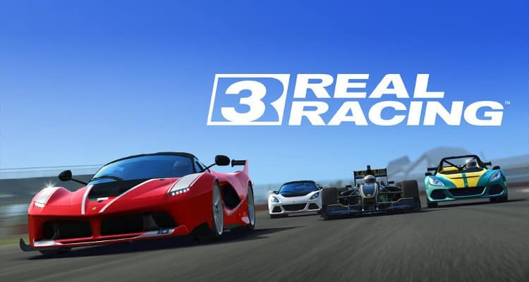 Real Racing 3 telecharger gratuit sans verification humaine