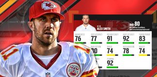 Madden 17 Ratings Alex Smith