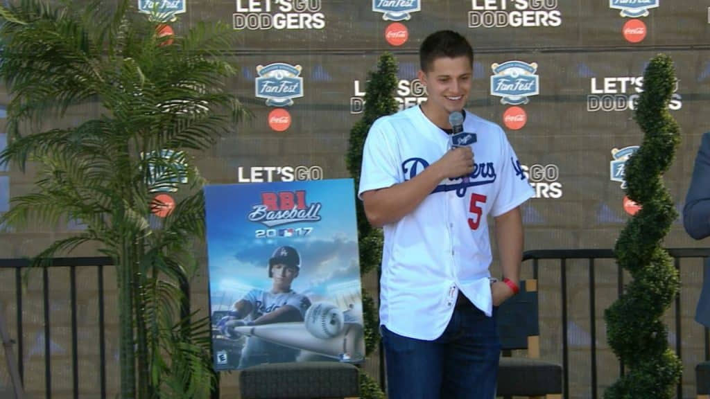 Cory Seager Unveiled