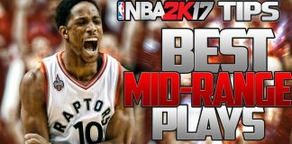 nba 2k17 best plays raptoers