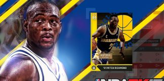 nba 2k17 worst shooting guard ratings mitch richmond
