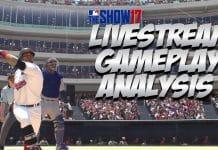MLB The Show 17 Livestream Gameplay Analysis