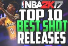 NBA 2K17 Best Shot Releaes