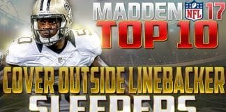 Madden 17 sleeper outside linebackers