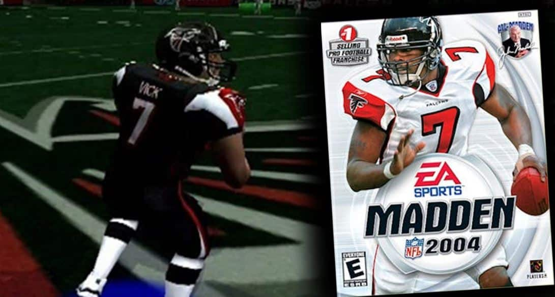mike vick madden 04
