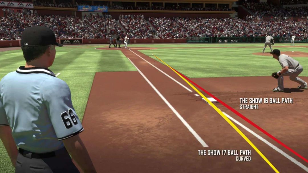 mlb the show 17 ball physics