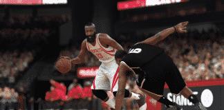 NBA 2K17 Dribbling Harden